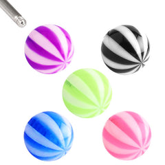 view all Acrylic Beach Ball body jewellery