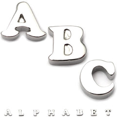 Steel Threaded Attachment - 1.6mm Cast Steel Alphabet
