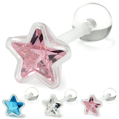 PTFE Crystal Star Tongue Bar