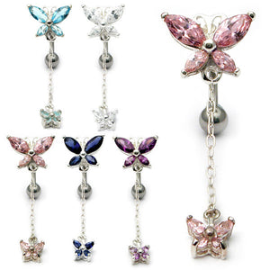 Belly Bar - Butterfly (XA88)