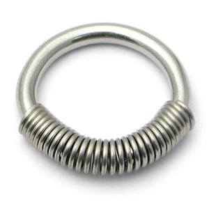 Steel Coil Closure Rings