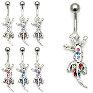 Belly Bar - Gecko (PT219)