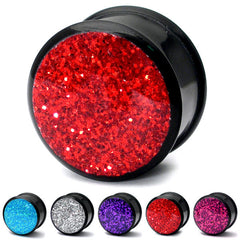 view all Acrylic Sparkle Plugs body jewellery