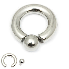 view all Steel BCR with Screw-in Ball body jewellery
