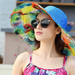 Colorful Beach Hats