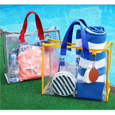 Transparent Jelly Beach Bags