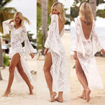 Crochet White Cover Up