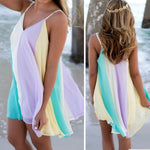 Thin Strapless Chiffon Cover Up