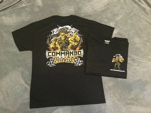 "COMMANDO RACING ""SUNBURST YELLOW"" T-SHIRT"