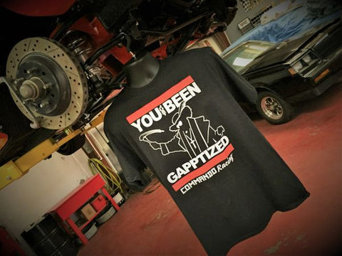 "COMMANDO RACING ""GAPPTIZED"" SHIRT"