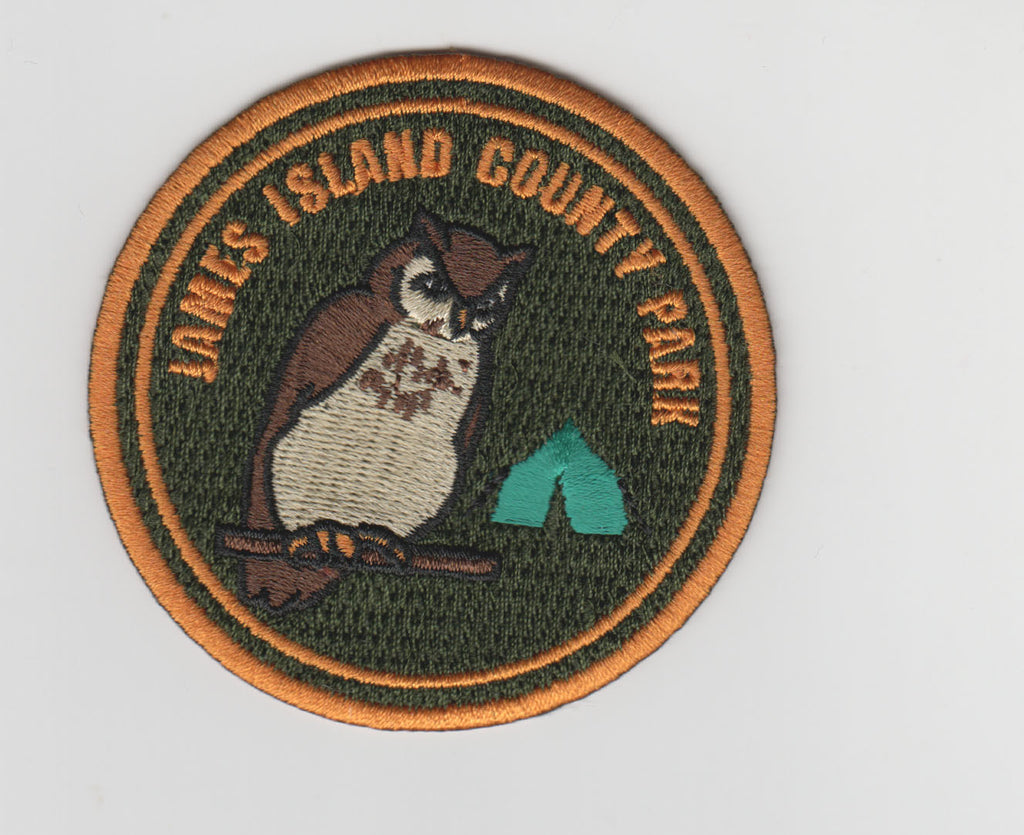 James Island County Park Embroidery Patch