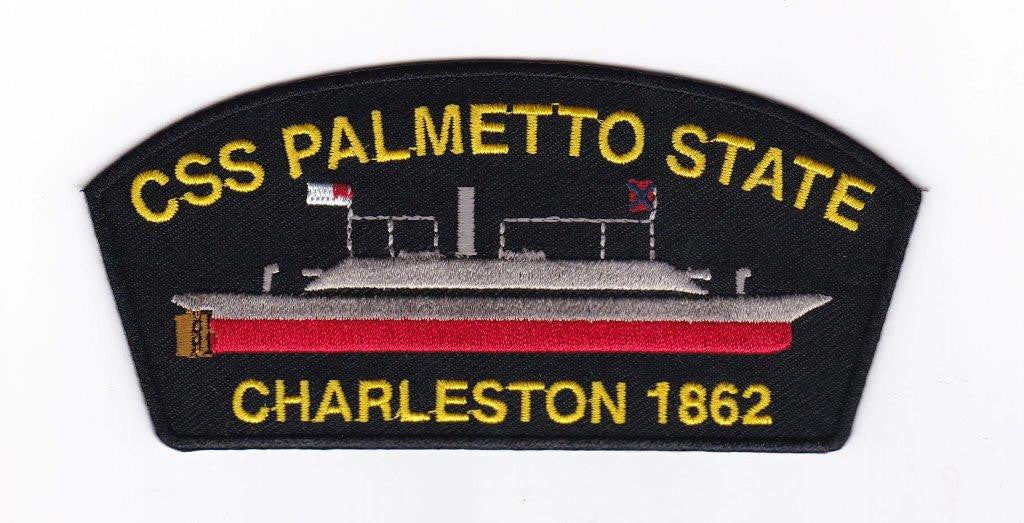 CSS Palmetto State Embroidery Patch