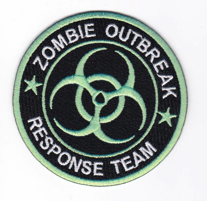Zombie Embroidery Patch