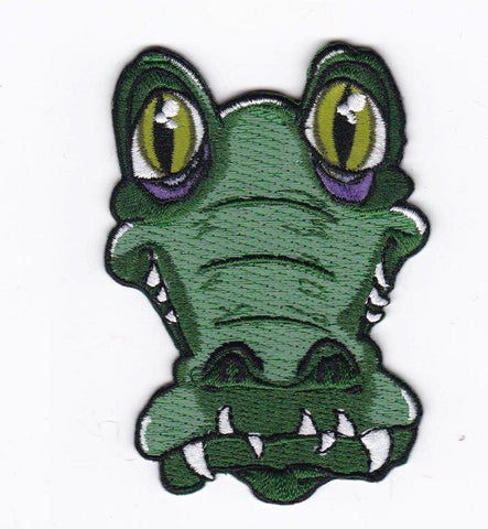 Gator Embroidery Patch