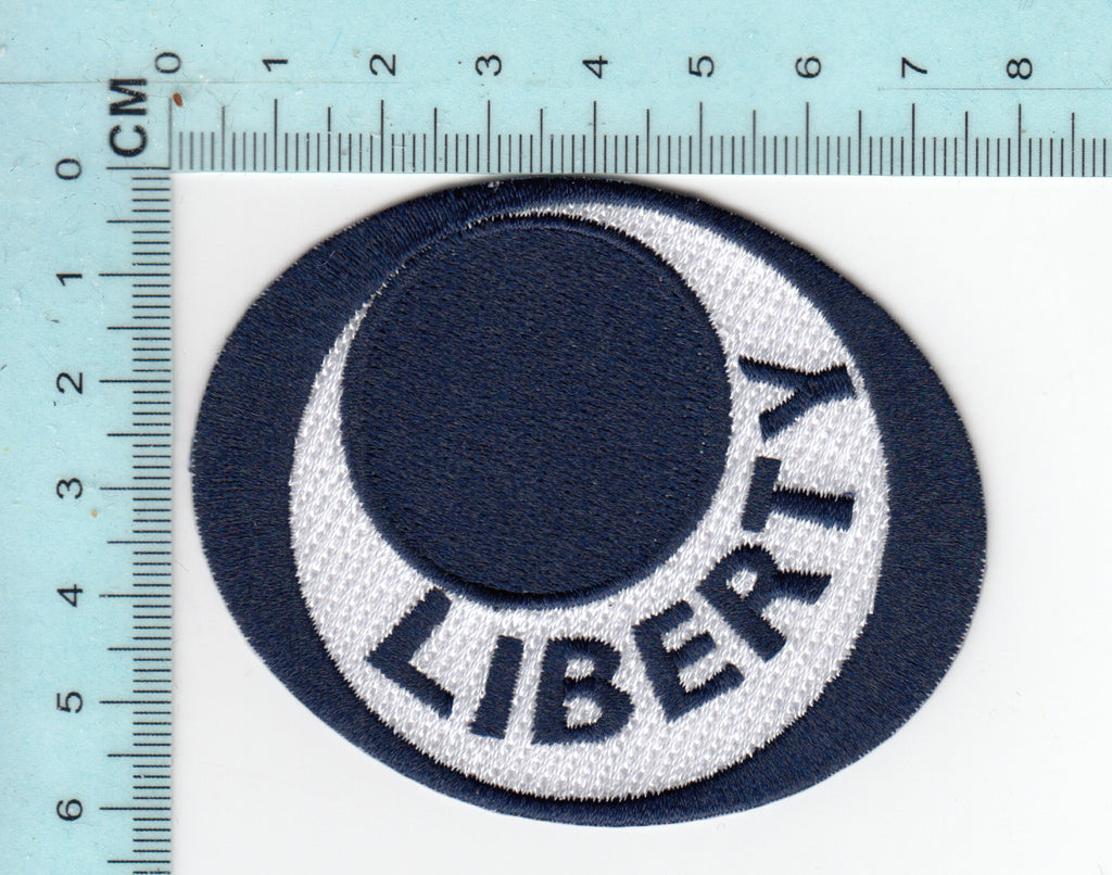 Liberty  embroidery patch