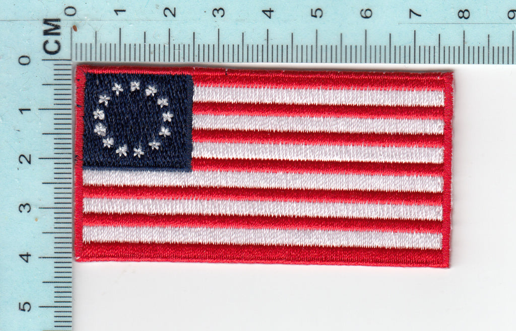 Betsy Ross Flag  embroidery patch