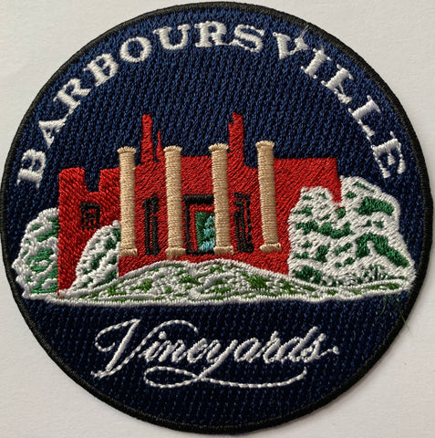 Barboursville Vineyards Embroidery Patch