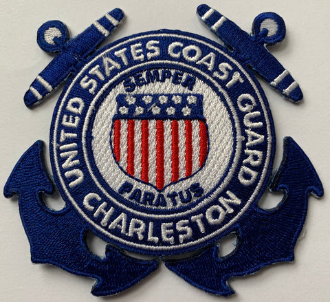 United States Coast Guard-Charleston  Embroidery Patch