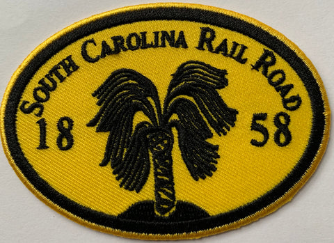 SC Rail Road 1858 Embroidery Patch