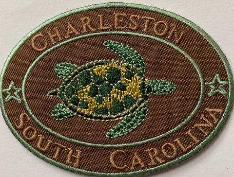 CHS Turtles Embroidery Patch