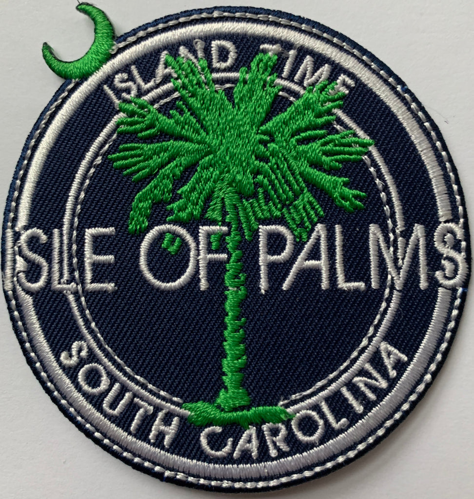 Isle of Palms (IOP) Embroidery Patch