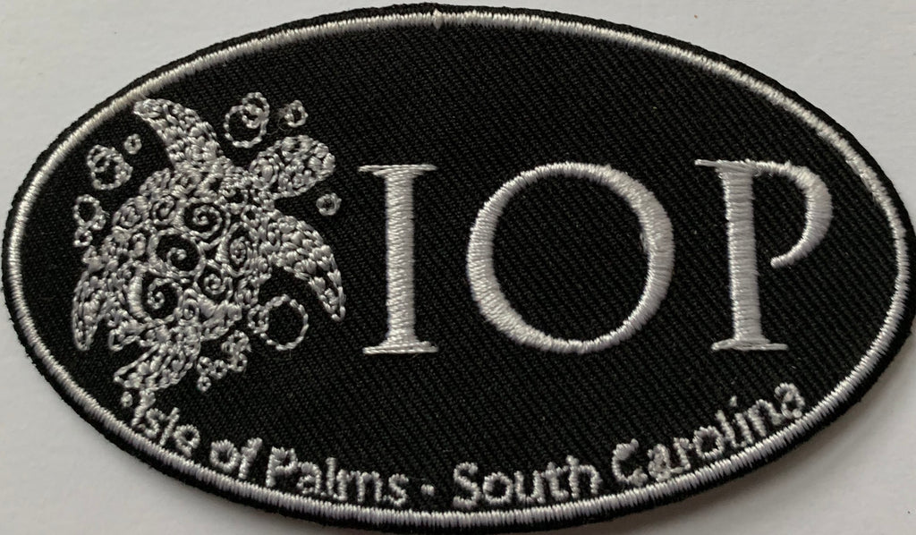 IOP Turtles  Embroidery Patch