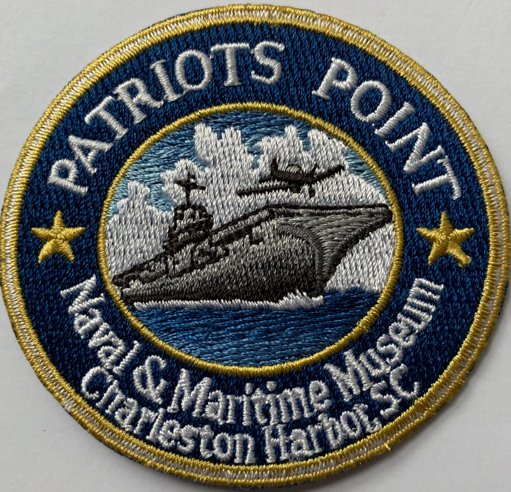 Patriots Point Embroidery Patch