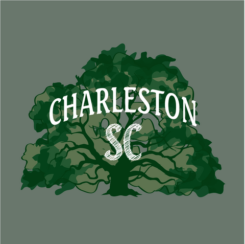 Charleston Angle Oak Decal