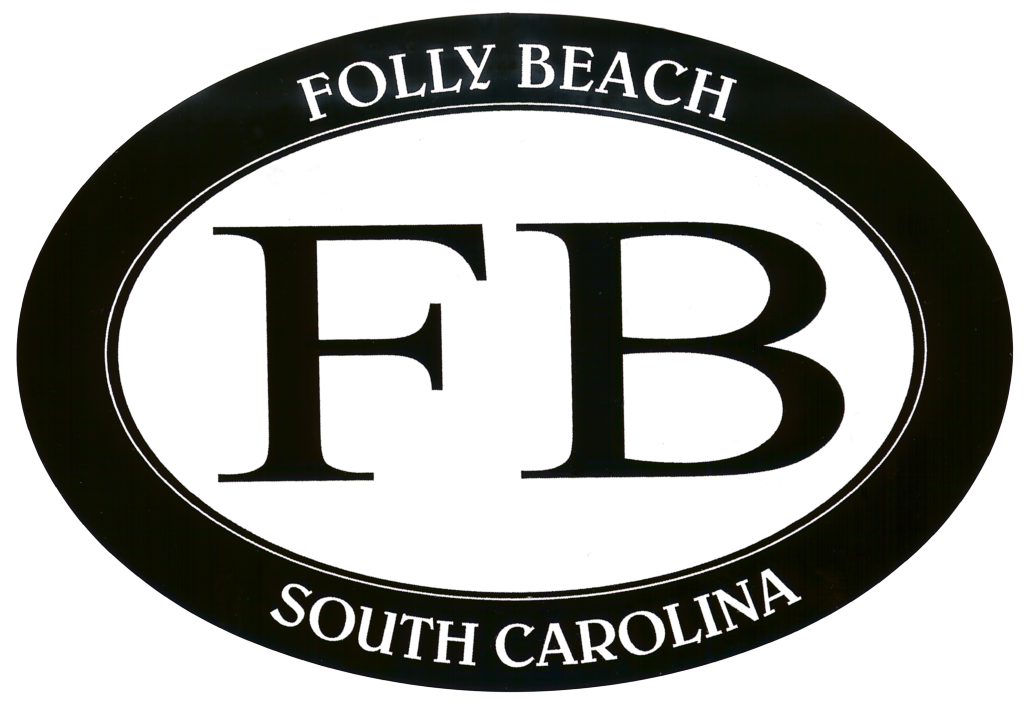 Folly Beach FB Decal