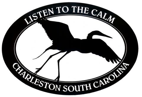 Charleston Listen to the Calm Decal