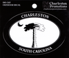 Charleston Palmetto and Moon Decal