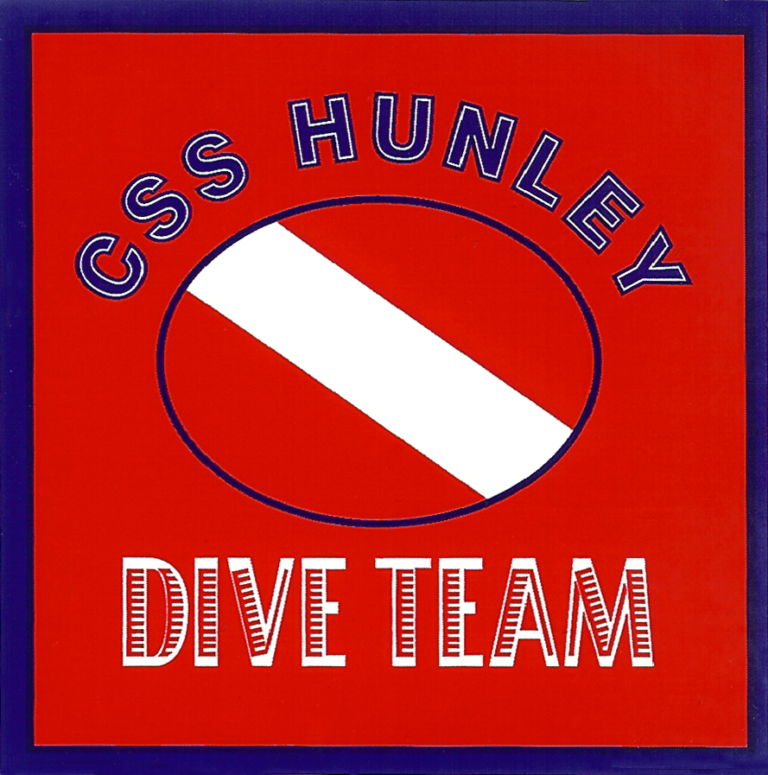 CSS Hunley Dive Team Decal