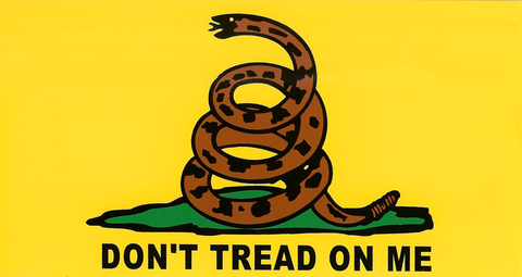 Gadsden - Don't Tread on Me - Decal