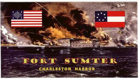 Fort Sumter Charleston Harbor Decal