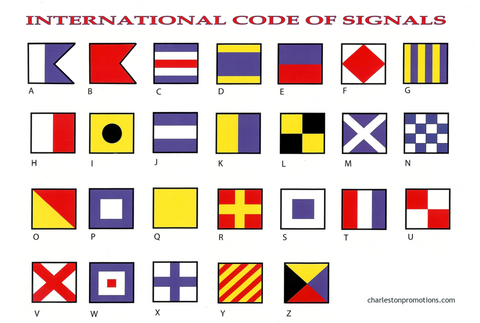 International Code of Signals Decal