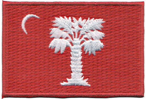 Big Red Embroidery Patch