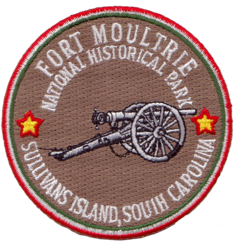 Fort Moultrie Embroidery Patch
