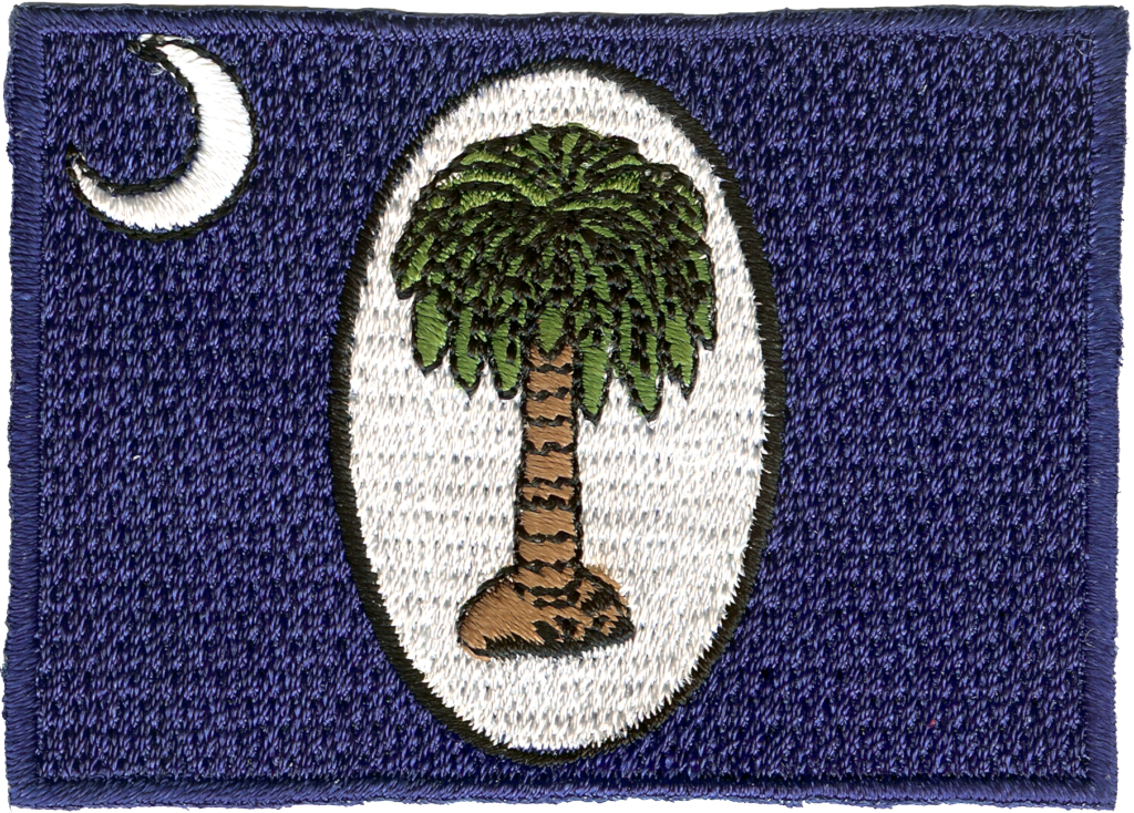 January 1861 Embroidery Patch