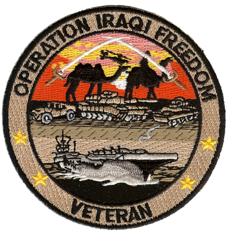 Operation Iraqi Freedom Embroidery Patch