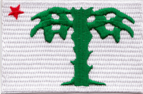 Palmetto Guard Flag Embroidery Patch
