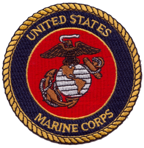 United States Marine Corps Embroidery Patch