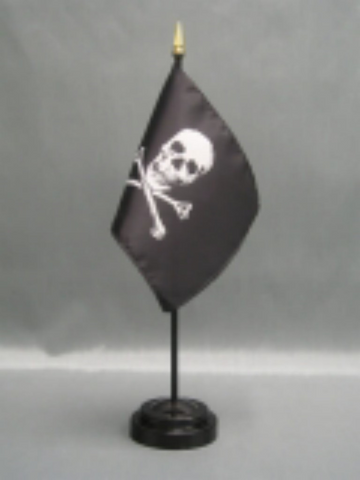 Jolly Roger Pirate Small Flag