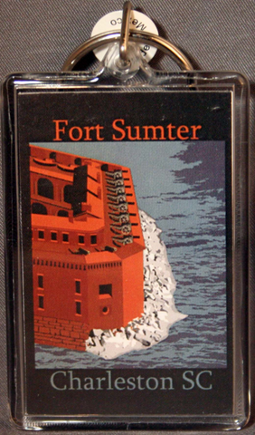 Fort Sumter Key Chain