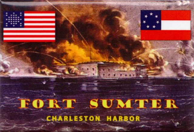 Fort Sumter Charleston Harbor Magnet