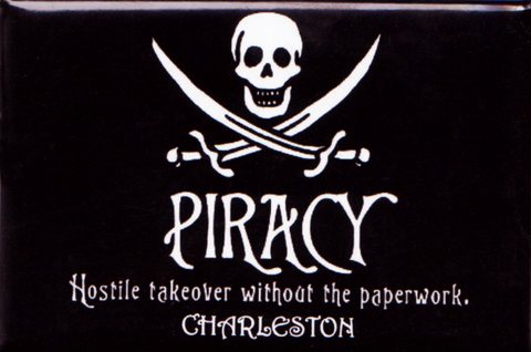 Piracy Hostile Takeover Without The Paperwork Magnet