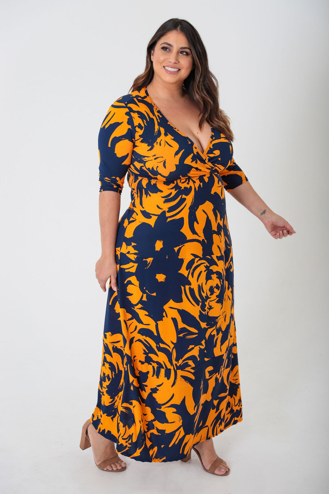 Multi-Color Maxi Dress - KIN by Kristine