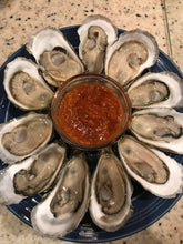 Load image into Gallery viewer, Wellfleet Oysters from Shawn Rose of Main Street Shellfish Company