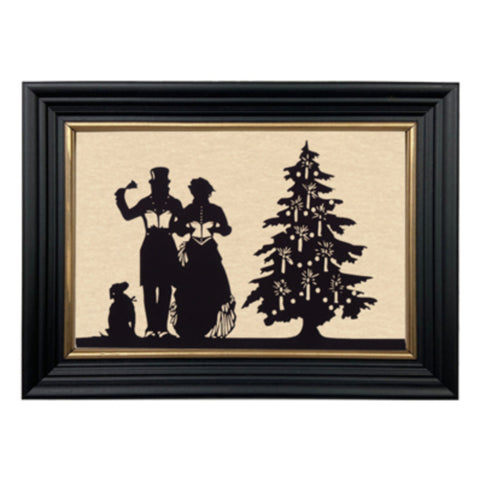 Christmas Carole Silhouette - Farmhouse-Primitives