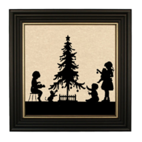 Christmas Time Silhouette - Farmhouse-Primitives