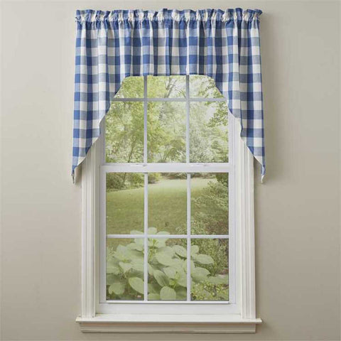 Wicklow China Blue Curtains